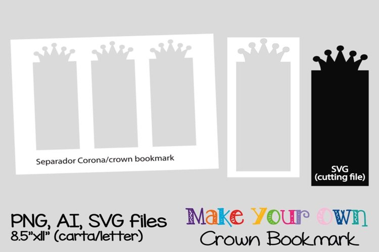 Crown Bookmark example image 1