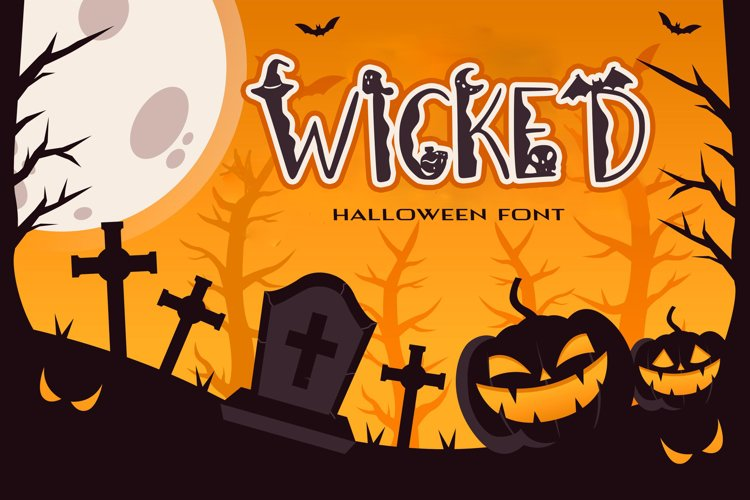 Wicked Halloween Font example image 1