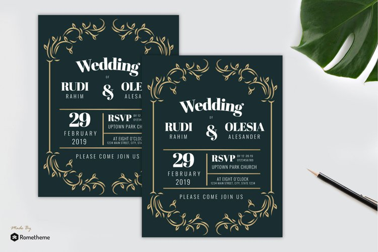 Wedding Invitation vol. 03 example image 1