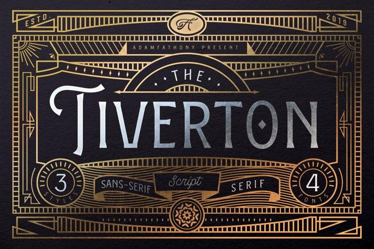 Tiverton Font Trio