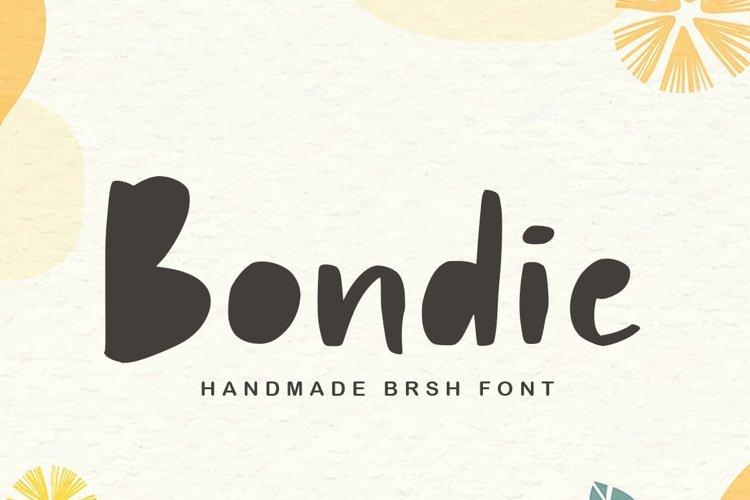 Bondie Playful Font example image 1