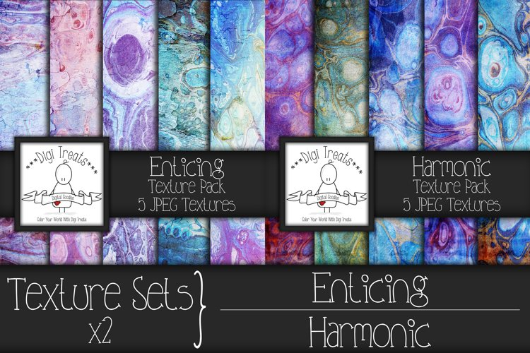 Texture sets x2. Enticing and Harmonic. example image 1