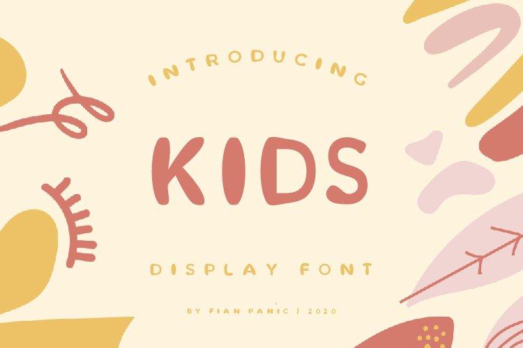 Kids Panic Font example image 1