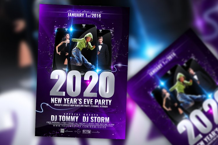 New Years Eve Bash Flyer