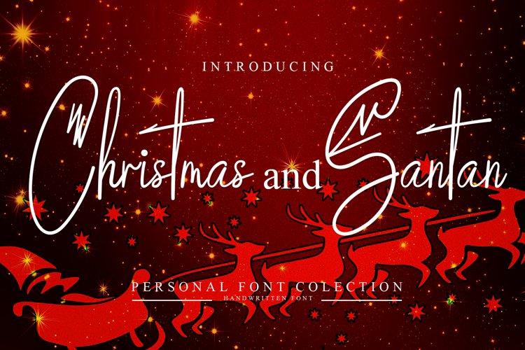 Christmas And Santan example image 1