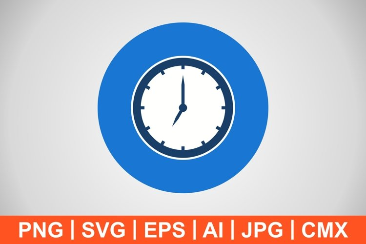 Vector Clock Icon example image 1