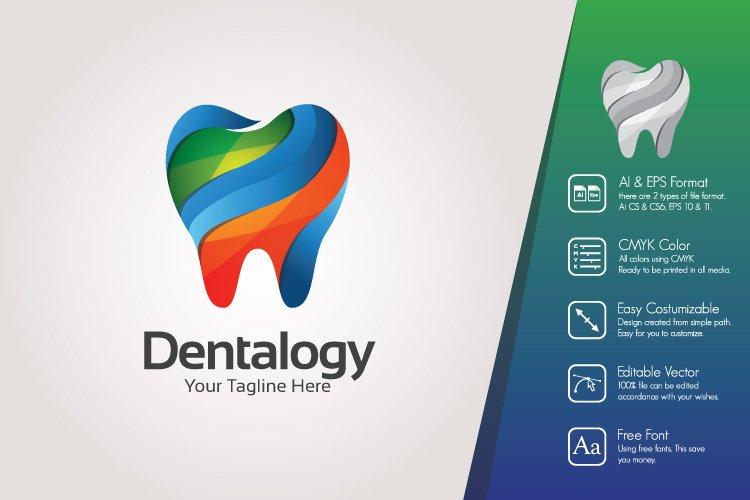 Colorful Dental Logo Template