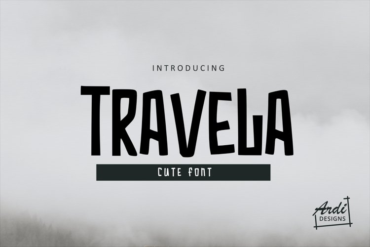 Travela Font example image 1