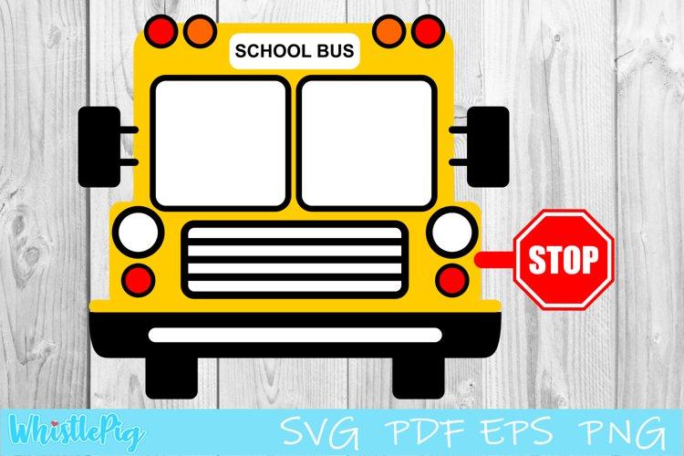 School Bus SVG School Bus Driver SVG Back To School example image 1