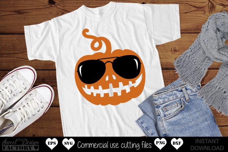 Cool pumpkin SVG example image 1