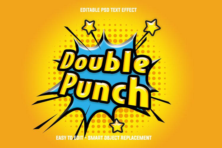 comic punch text effect example image 1