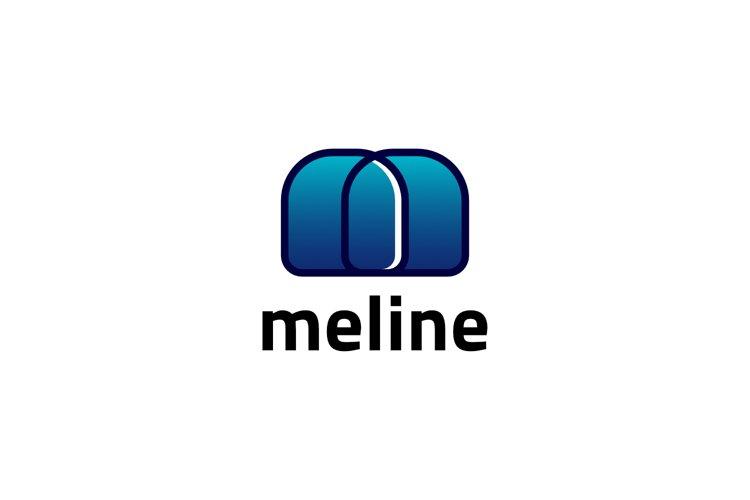 Letter M - Gradient Logo