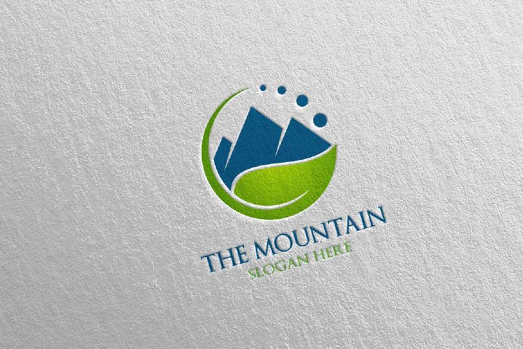 Mountain Logo Design 8 example image 1