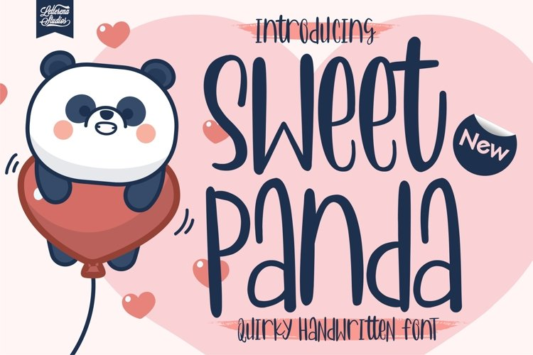 Sweet Panda - Quirky Handwritten Font example image 1