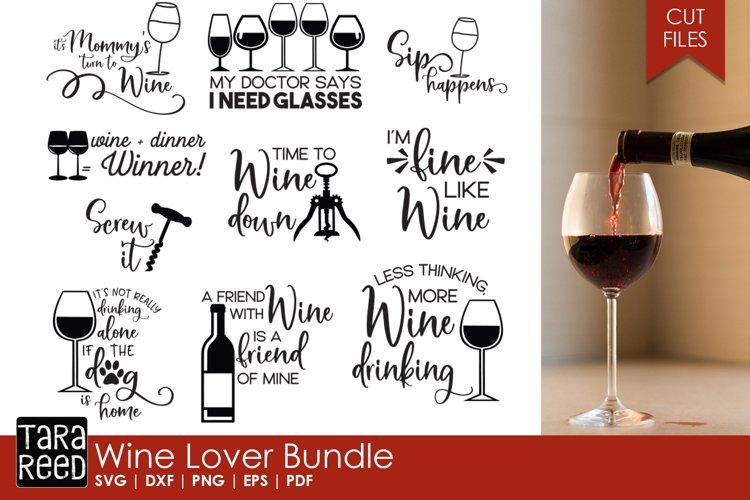 Download Wine Lover Bundle 80866 Cut Files Design Bundles