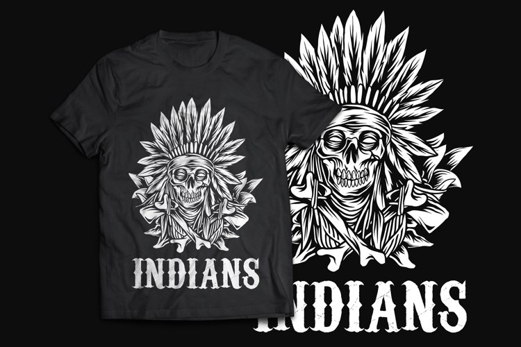 Native American T-Shirt Design example image 1