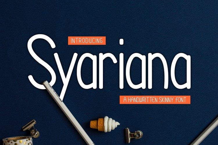Syariana example image 1