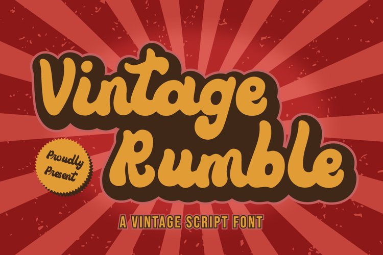 Vintage Rumble example image 1