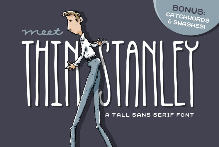 Thin Stanley Font example image 1
