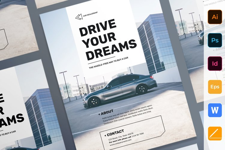 Car Dealership Poster example image 1