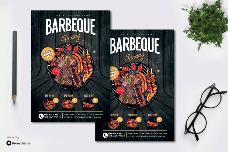 Barbeque - Flyer MR example image 1