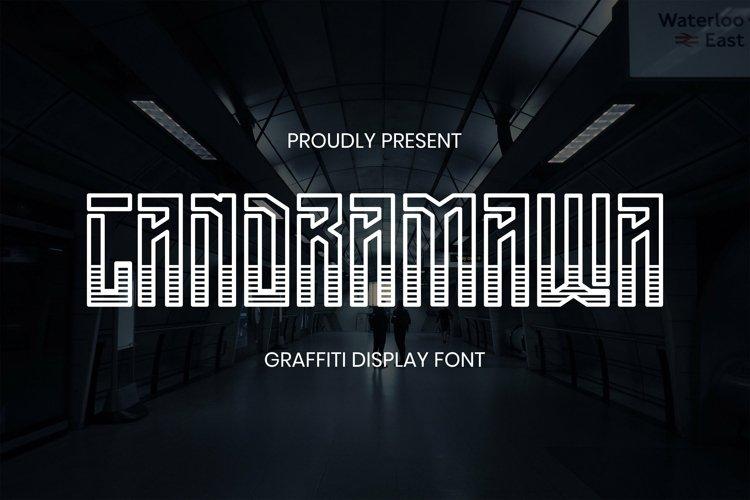 Web Font Candramawa Font example image 1