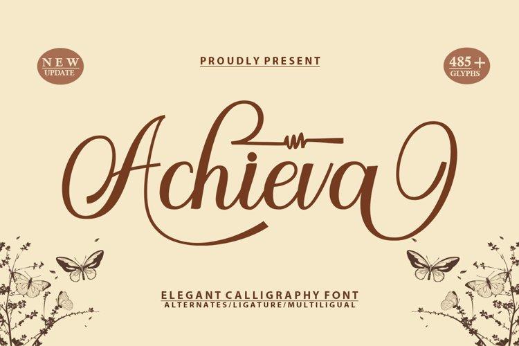 Achieva Script example image 1
