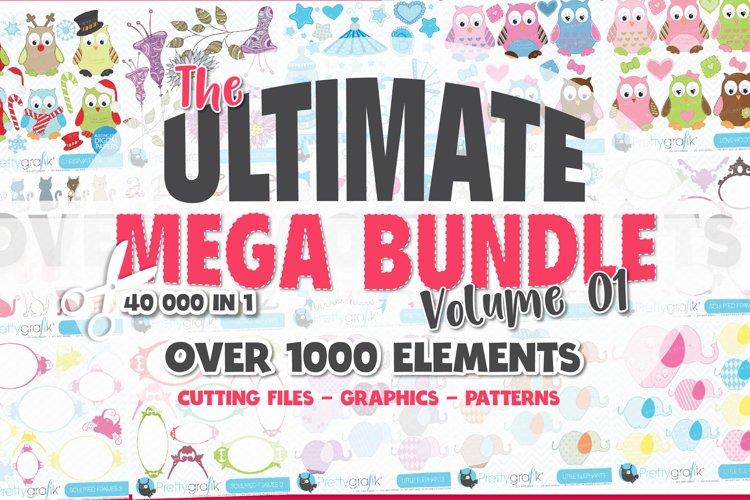 Ultimate Craft Bundle | svg | graphics | sublimation |Vol.01