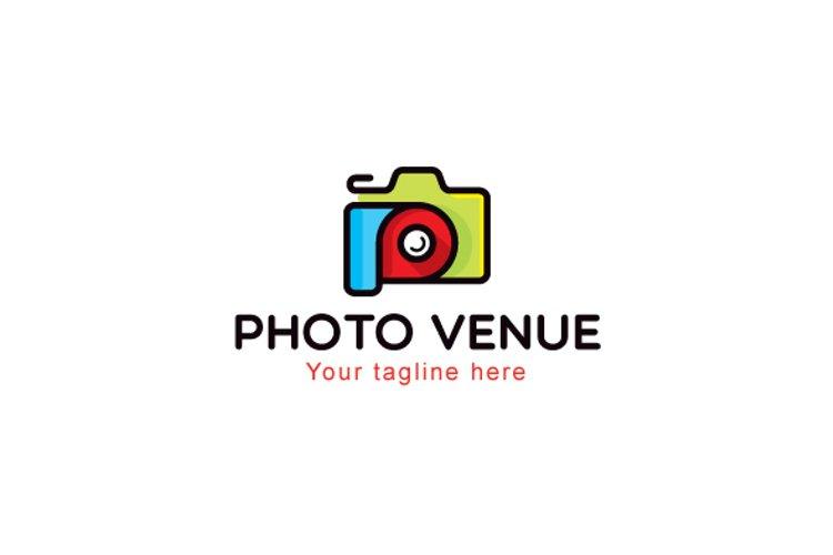 Photo Venue - Photography Studio Stock Logo Template example image 1