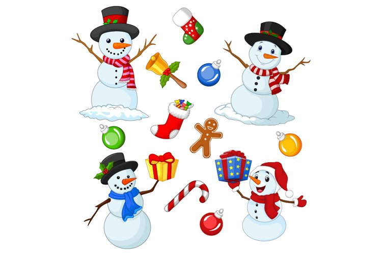 Cute Christmas Elements Collection example image 1