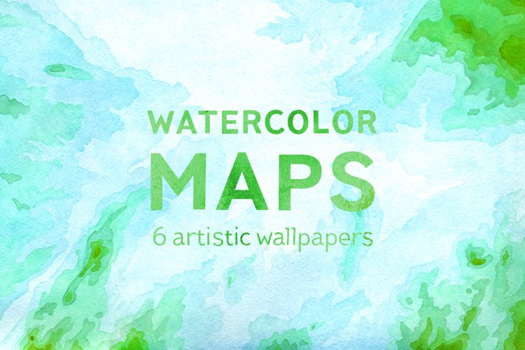 Watercolor Maps example image 1