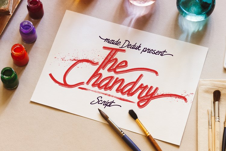Chandry Fonts example image 1