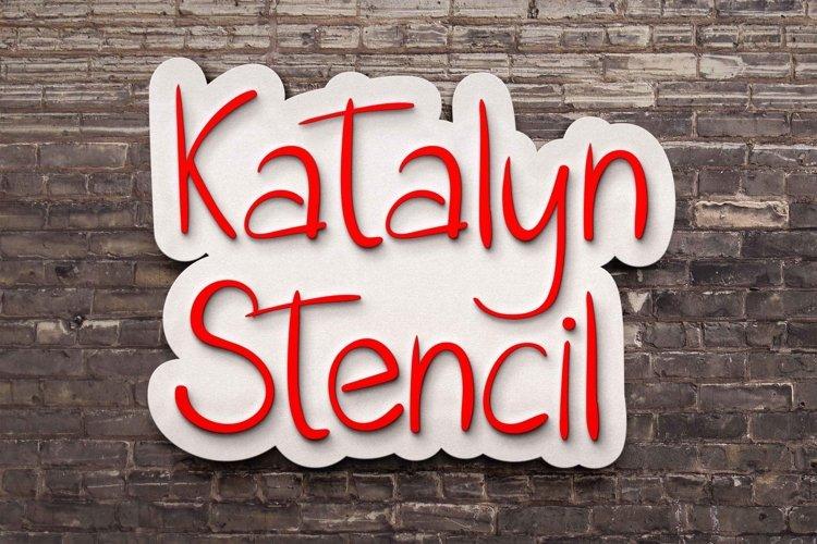 Katalyn Stencil