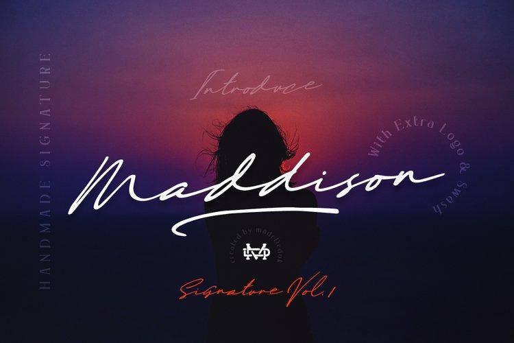 Maddison - Handmade Signature