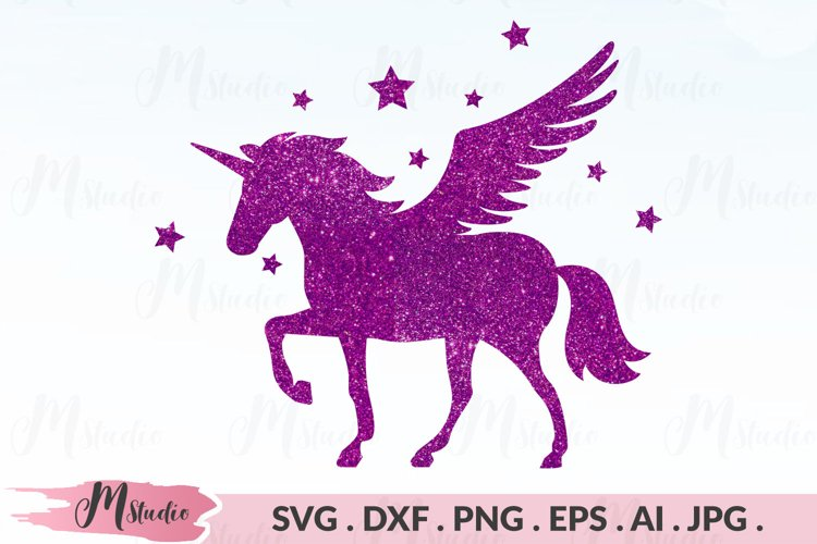 Unicorn Pegasus SVG