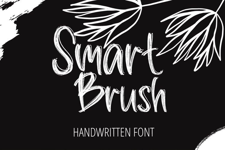 Smart Brush - Handwritten Brush Font example image 1