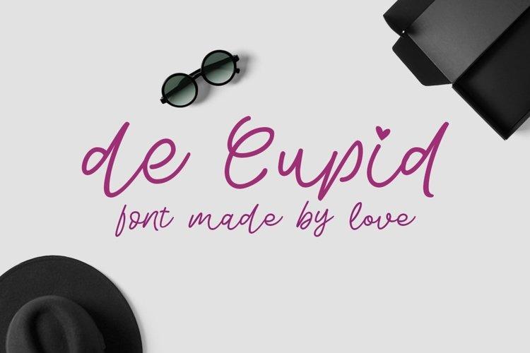 Web Font De Cupid example image 1
