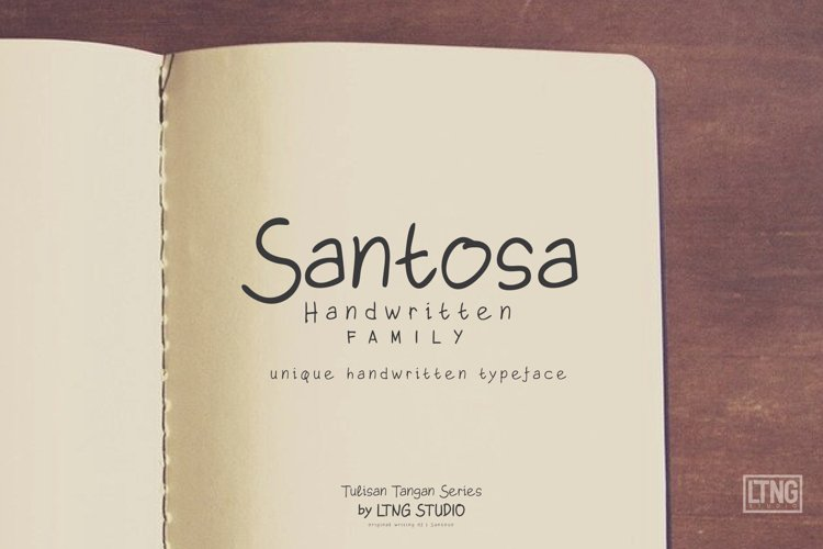 Santosa Handwriting
