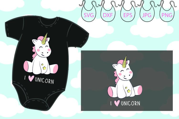 I love Unicorn svg, Believe, Magic, Unicorn horn example image 1