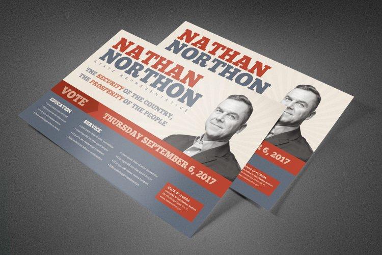 Representative Political Postcard
