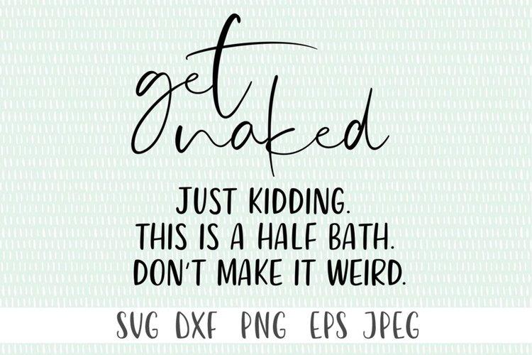 Funny Bathroom Decor SVG example image 1