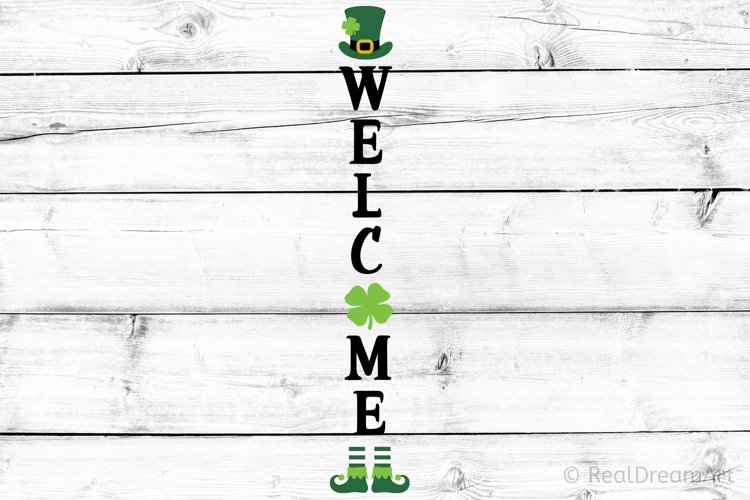 St Patricks Day Porch Sign SVG, DXF, PNG, EPS example image 1