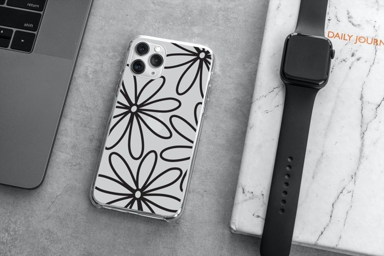 iPhone Case SVG Design Bundle, iPhone 12 Pro Template SVG example 5