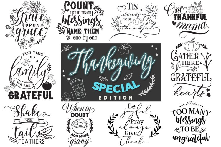 Thanksgiving Special Edition - September PROMO! example image 1
