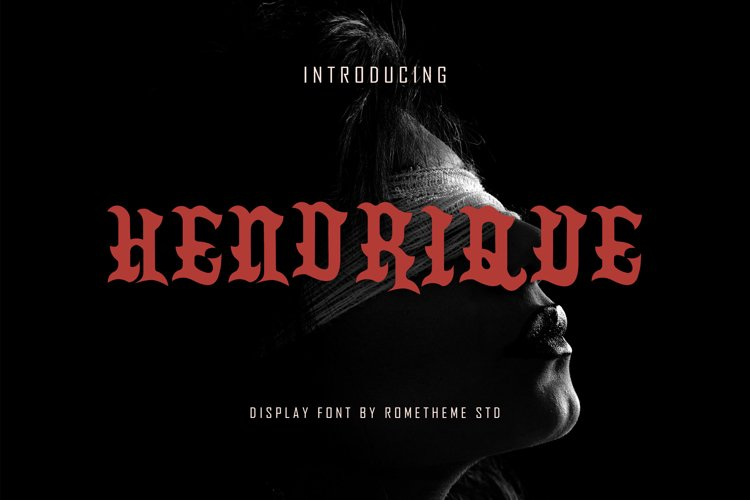 Hendrique - Font DR example image 1