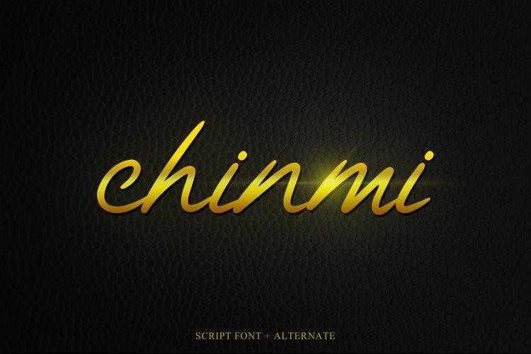 Chinmi Script Font example image 1
