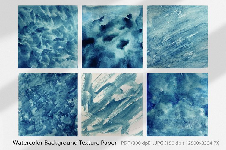 Painted Watercolor Textures No.07