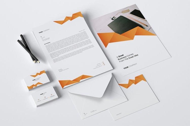 Branding Identity Stationery Template