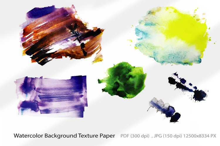Painted Watercolor Textures No.06