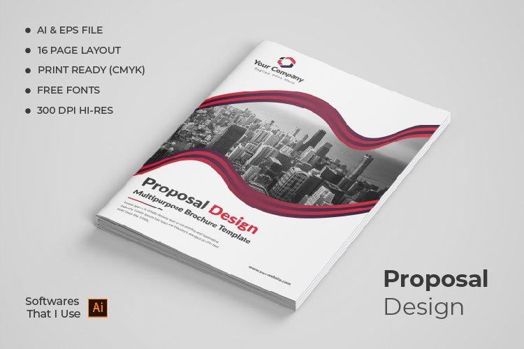 Proposal Design example image 1
